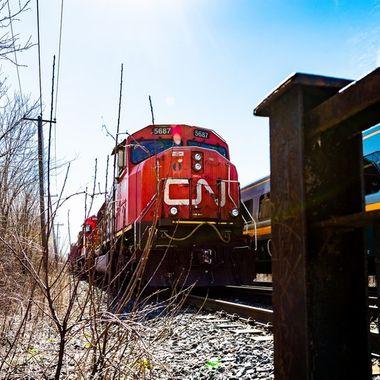 Pointe St-Charles - CN Train