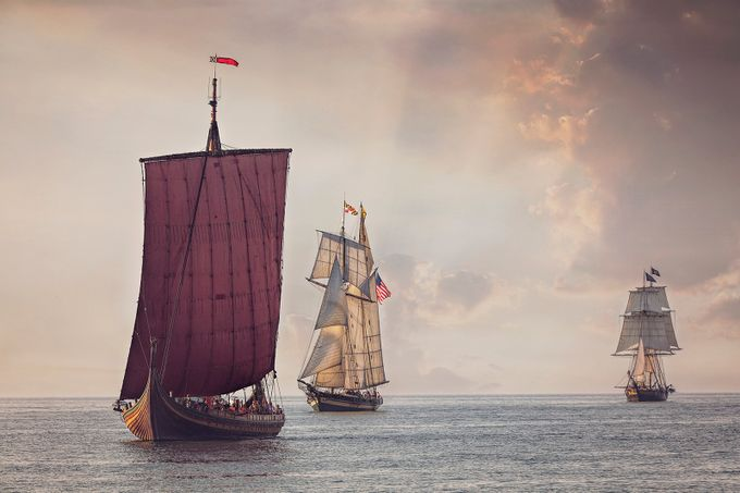 Parade of Sails by photosbydeb - Around the World Photo Contest By Discovery