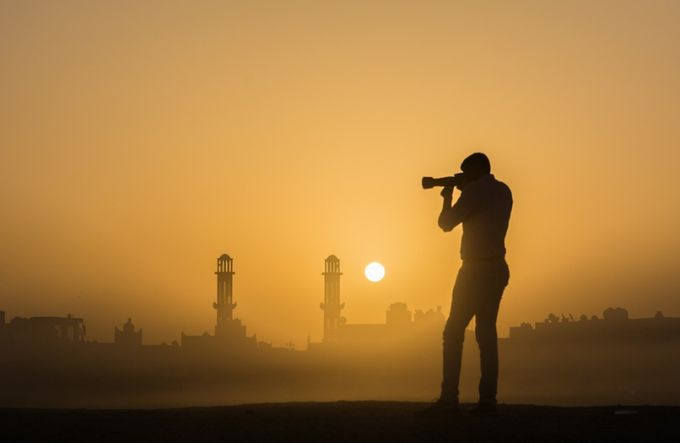 Sunrise Shoot copy by SRSVIEW - People In Large Areas Photo Contest