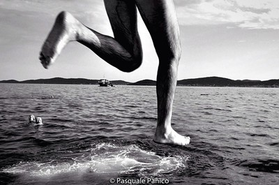 walking on the sea