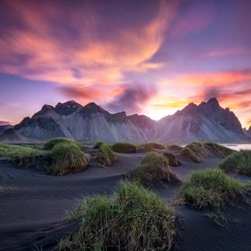 Stokksnes summer sunrise