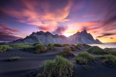 Stokksnes summer sunrise