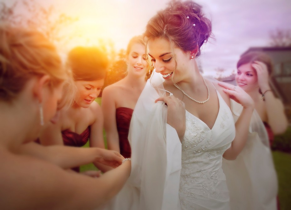 a past wedding photo makeover inspired by the many photographers  of ViewBug