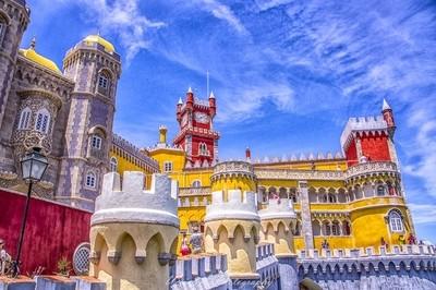 Sintra Palacio de la Pena