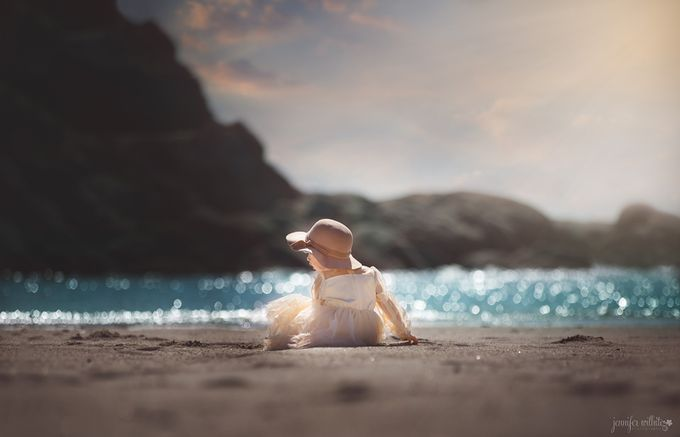 Ella-1-beach by jenniferwilhite_photog - We Love The Summer Photo Contest