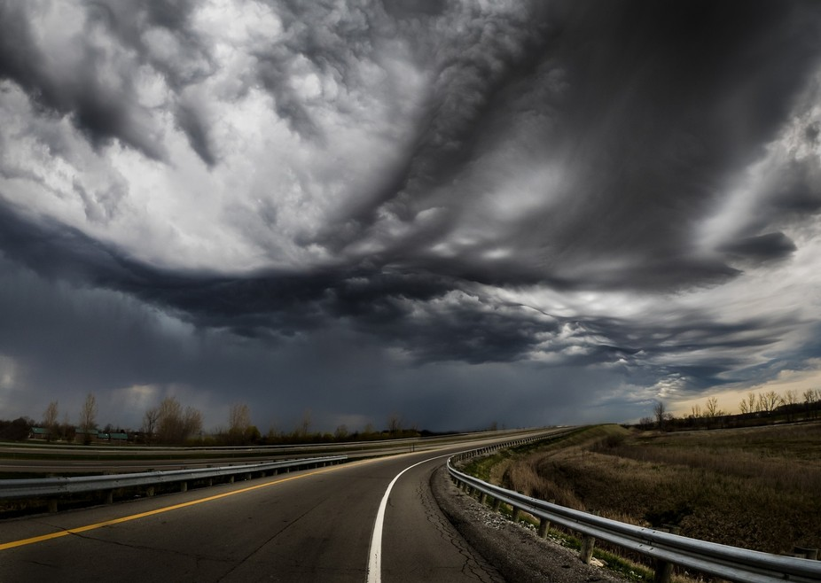 As I was heading home from Cincinnati this spring we were driving into a large storm cell. I had ...