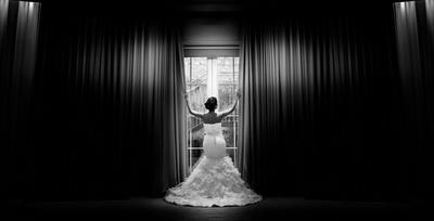 His beautiful bride