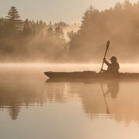 A perfect morning kayak !! CANADA, QC, Mauricie  Philippe DE-BRUYNE© http://monregardsurlanature.com/