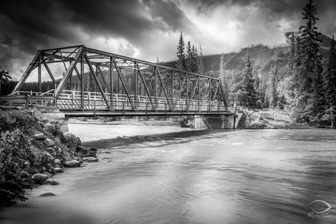 Jasper National Park  by kensiemens - Structures in Black and White Photo Contest