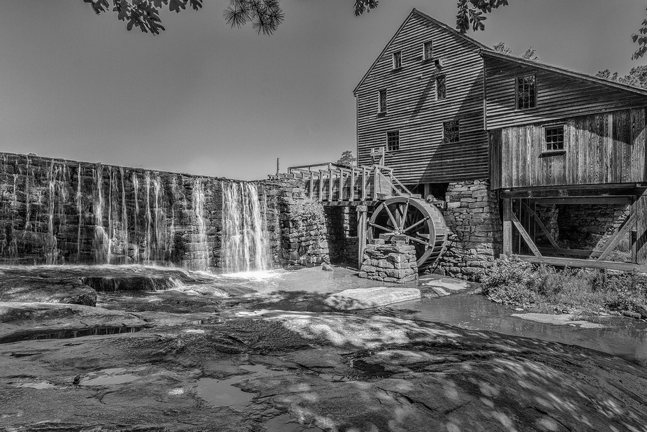 Historic Yates Mill, in Raleigh NC.