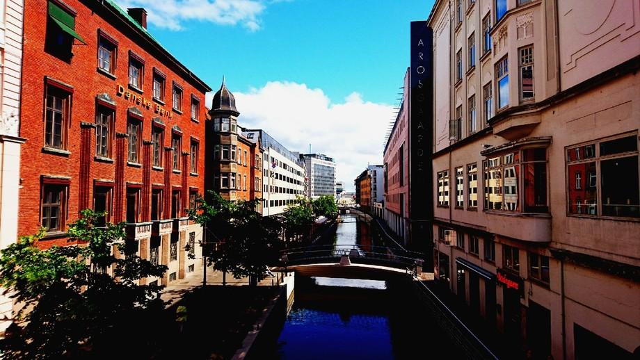 Aarhus city