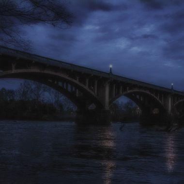 Gervais Street Bridge over the Congaree River Columbia, South Carolina