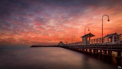 St Kilda Pier at Sunset