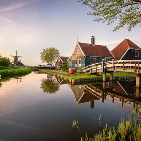 Zaanse Schans is a neighbouroughood of Zaandam, in the Netherlands, home of many traditional dutch windmills. Like many places in this country, w...