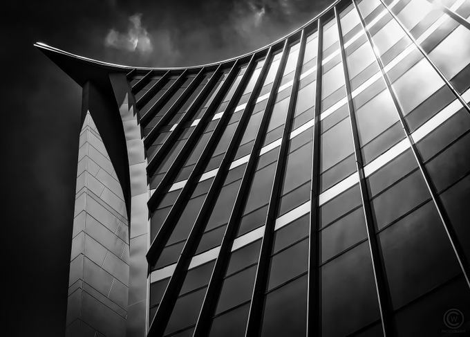 Structure in Shades of Gray by ChandlerWalker - Modern Architecture Photo Contest