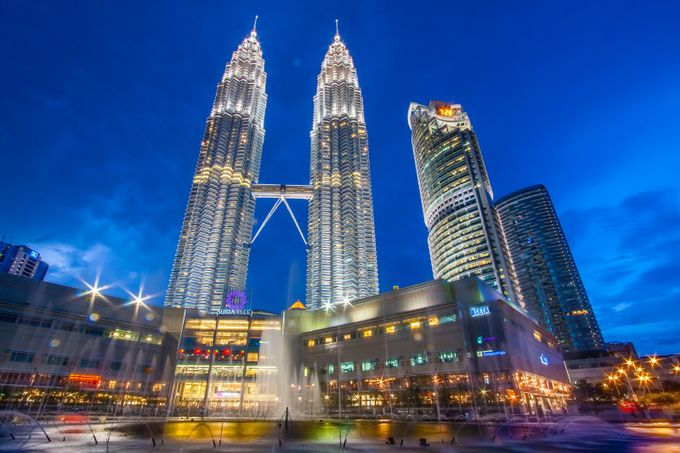 Wide View of KLCC by rachdian - Above Or Below Photo Contest
