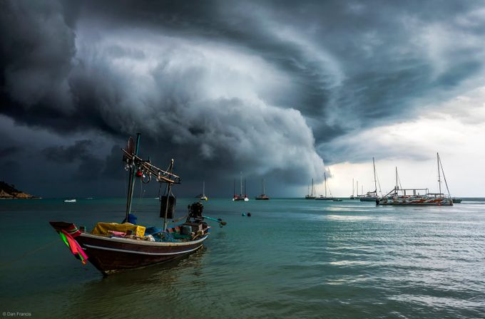 Before the storm by dfrancis2 - The Ocean Photo Contest