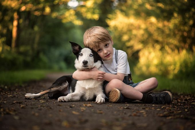 Boys best friend  by traceydobbs - Innocence Photo Contest