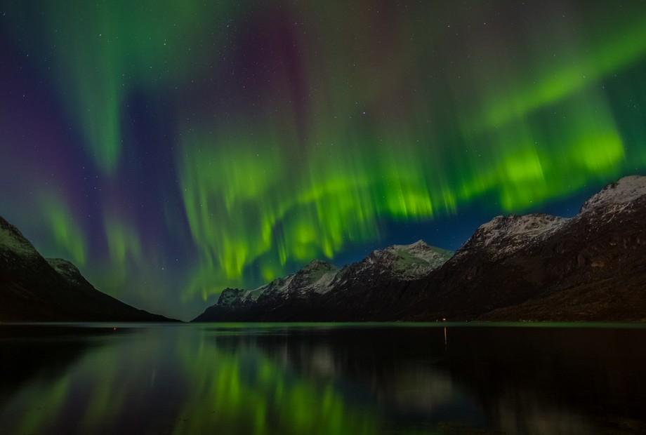 From Ersfjord - Tromsø northern Norway
