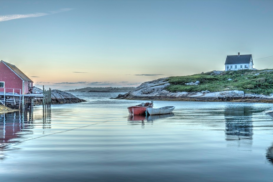 Took this shot on a recent work trip to Nova Scotia. The shot was taken at a place called peggys ...