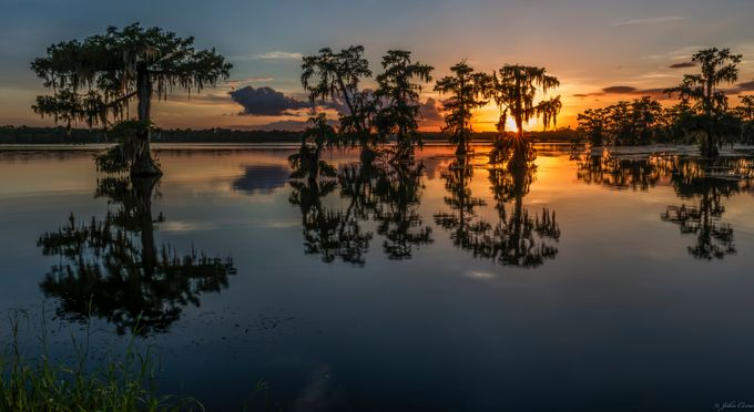 Sunset at Lake Martin, La   by jkcorso - Monthly Pro Vol 24 Photo Contest