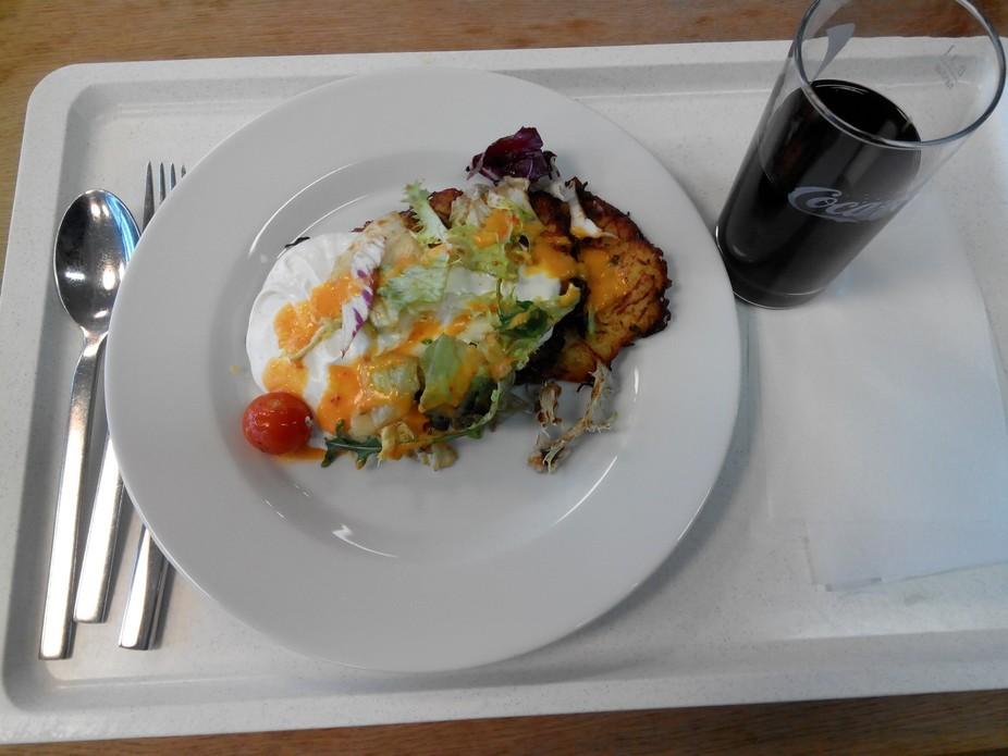I had this food item at Dusseldorf, Germany in Feb 2015. This is Pure Vegetarian food item I had ...