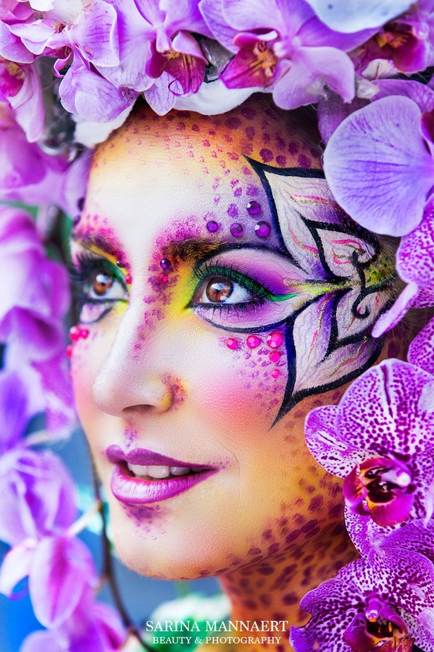 Orchidfairy* by sarinamannaert - Monthly Pro Vol 24 Photo Contest