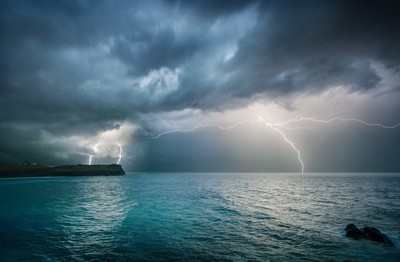 Storm over Lennox Head- Northern NSW