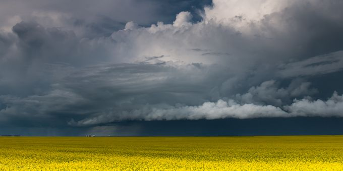 Big Sky Country  by KatnPat - Opposites Photo Contest