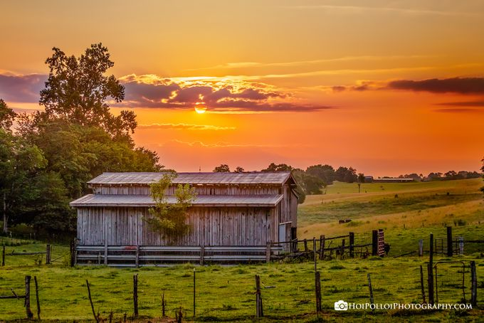 East Tennessee Sunrise by Merma1d - Monthly Pro Vol 24 Photo Contest