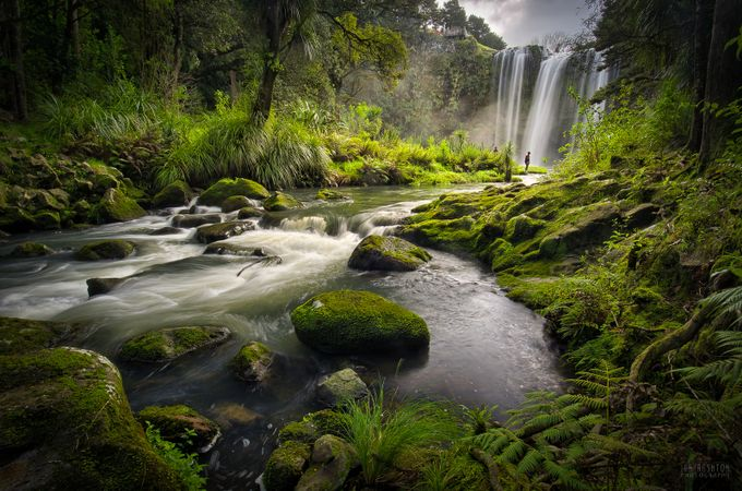 Whangarei Falls by ianrushton - The Magic Of Moving Water Photo Contest