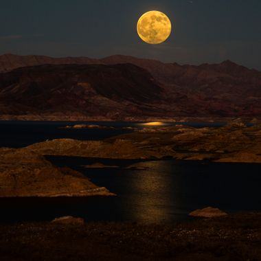 """Buck"" moon Lake Mead Las Vegas Nv."