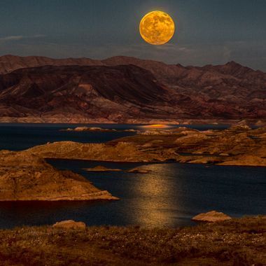 """Buck"" Moon HDR Lake Mead."
