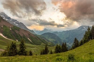 Golden Hour in the German Alps