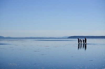 A Family Reflects - Crescent Beach, BC
