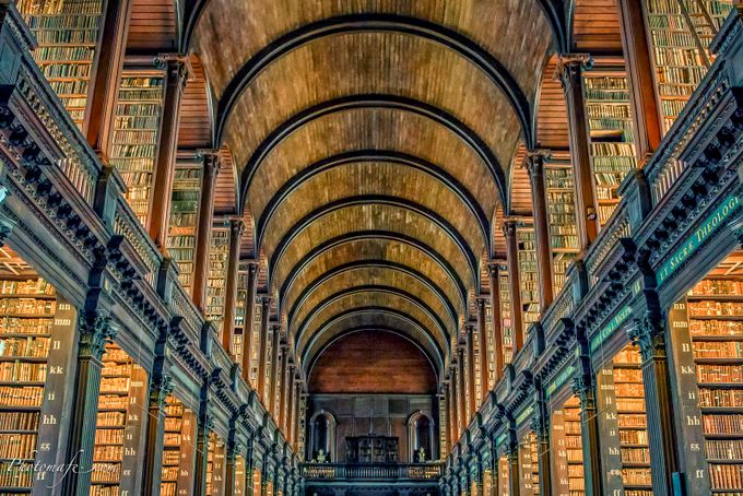 Trinity College Dublin Irland by mafe - Letters And Words Photo Contest