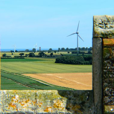 View of Norfolk countryside from Church Tower.