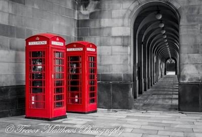 manchester phone box