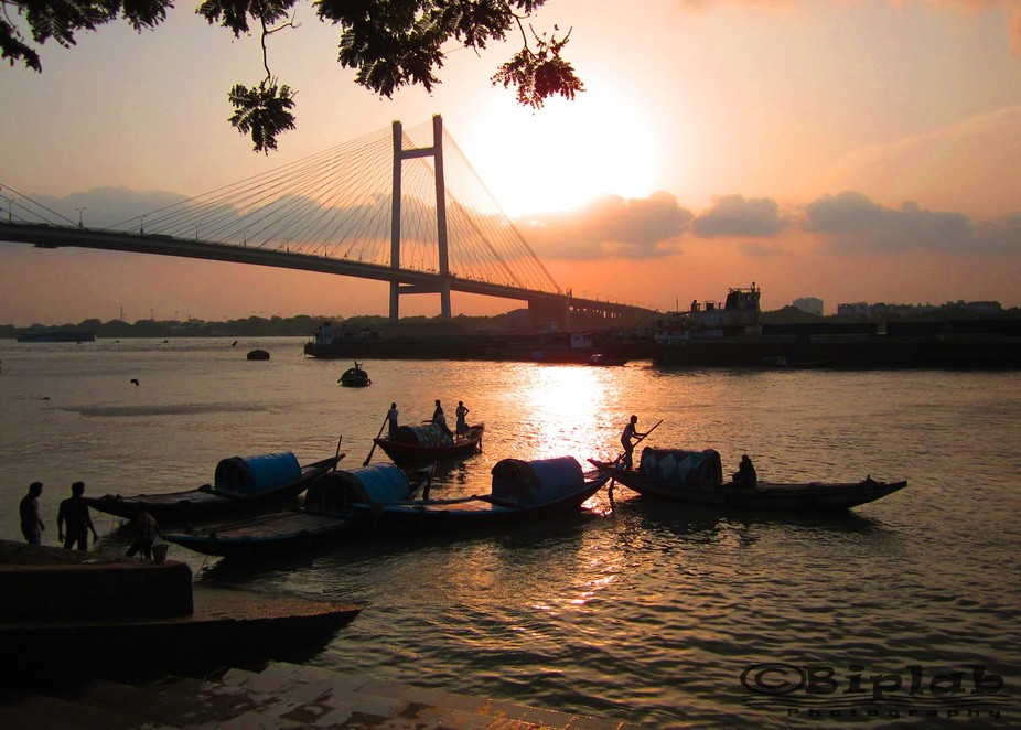 It was also taken at James Princep ghat, a famous riverside spot of Kolkata to spend time with yo...