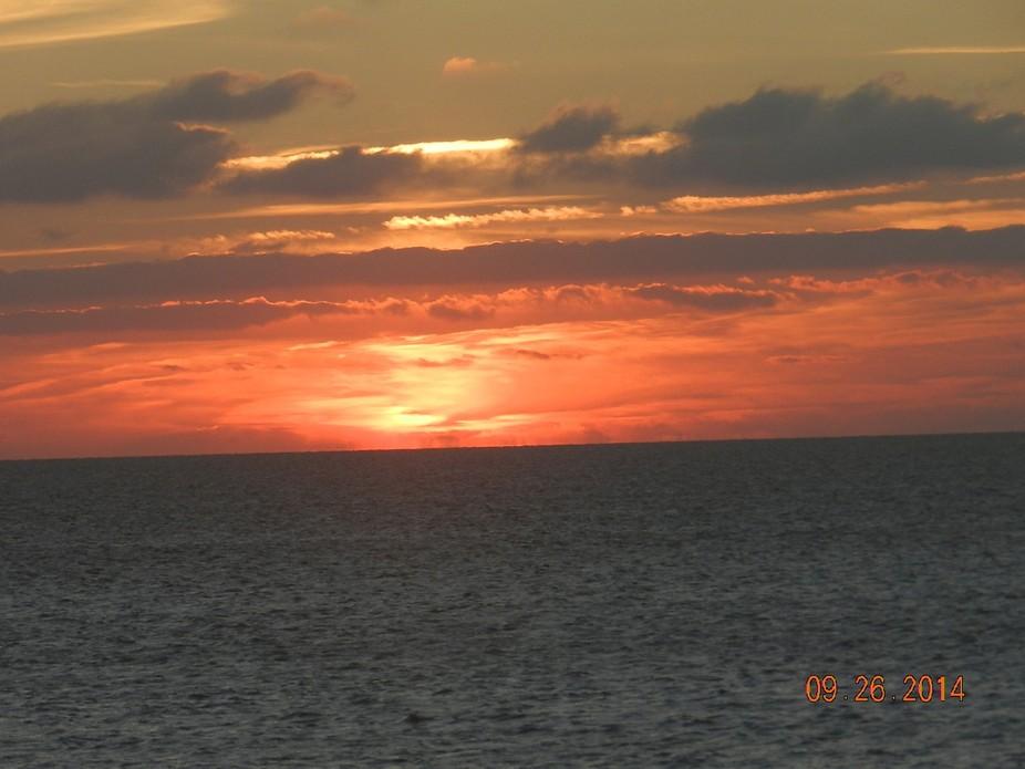 Sunset in Avon, NC