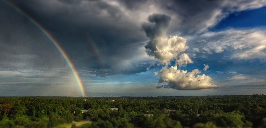 After a storm, captured from my Phantom Pro