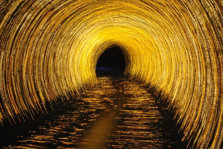 Shanghai China 7/2016 The Bund Tunnel