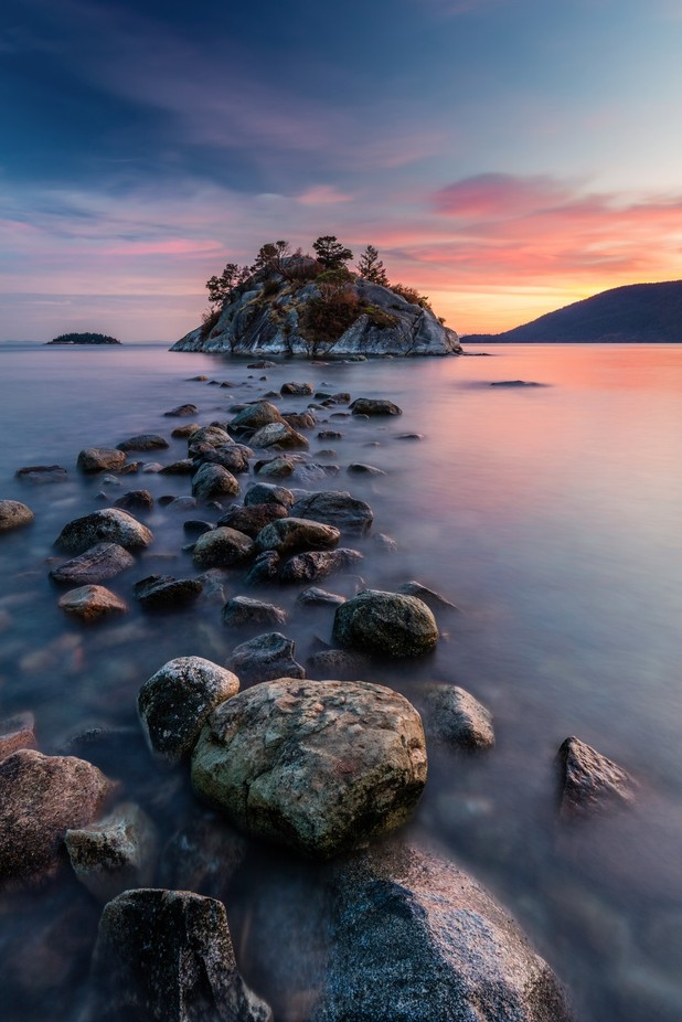 Rock Hopping at High Tide by PierreLeclercPhotography - Islands Photo Contest