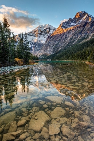 Mount Edith Cavell Sunrise