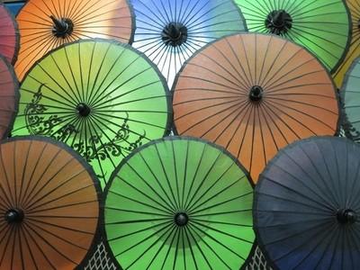 Handcrafted parasols