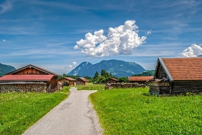 Bavarian Hay Barns