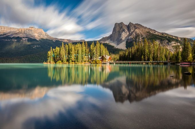 Emerald Lake Dreamscape by PierreLeclercPhotography - Long Exposure In Nature Photo Contest