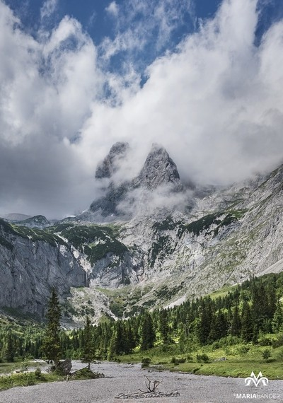 Mountain massif in Bavaria