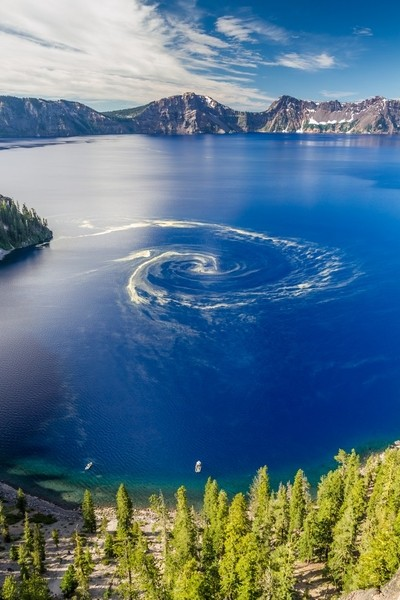 Giant Swirl Phenomenon