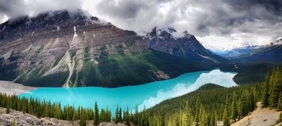 Peyto Lake_Panorama1 HDR Deep1